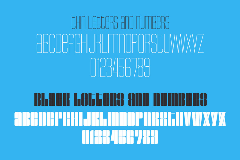 NEW YEAR'S Incredible Mix of Fonts 10