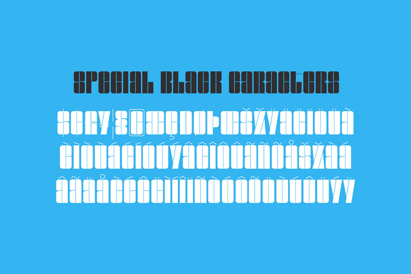 NEW YEAR'S Incredible Mix of Fonts 12