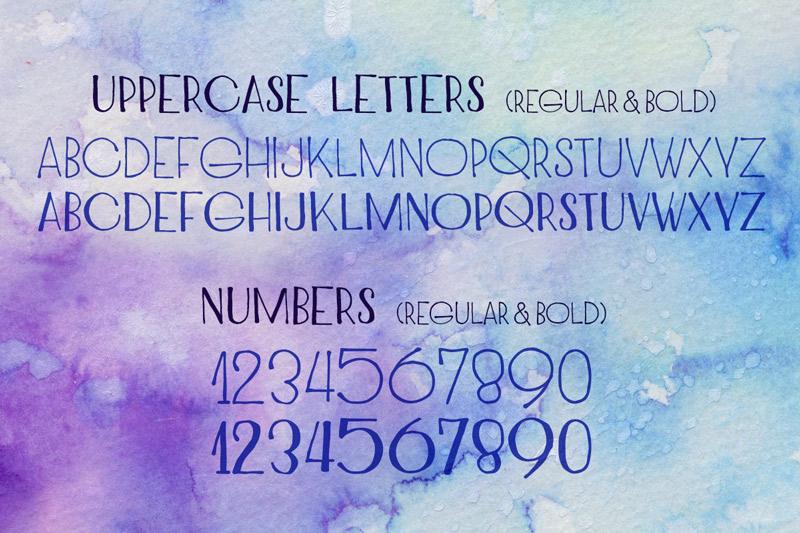 NEW YEAR'S Incredible Mix of Fonts 23