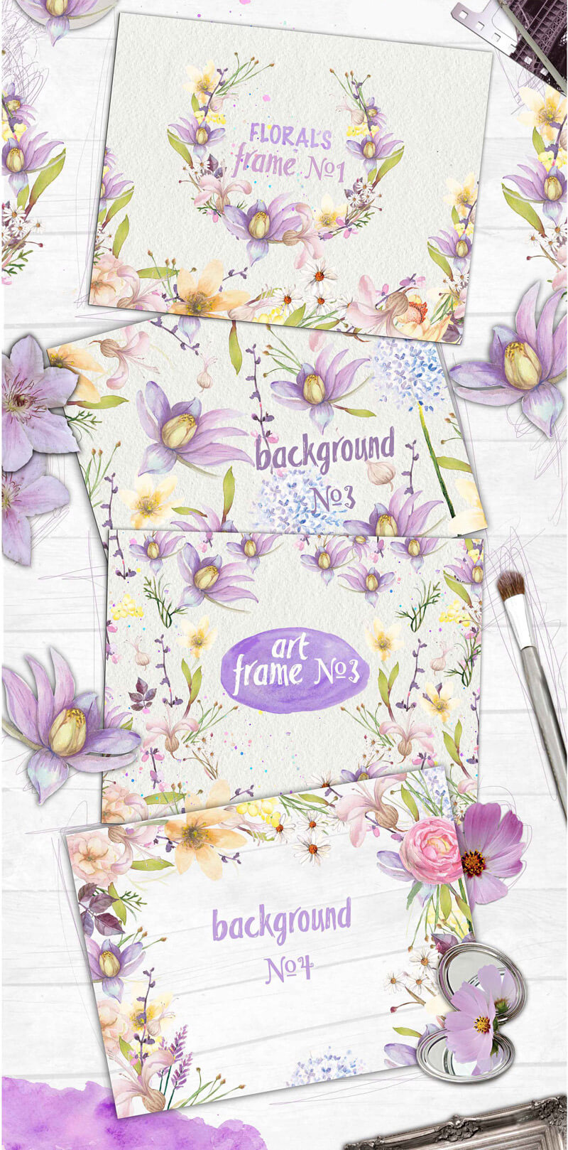 Summers Best Watercolor Collection Preview 28