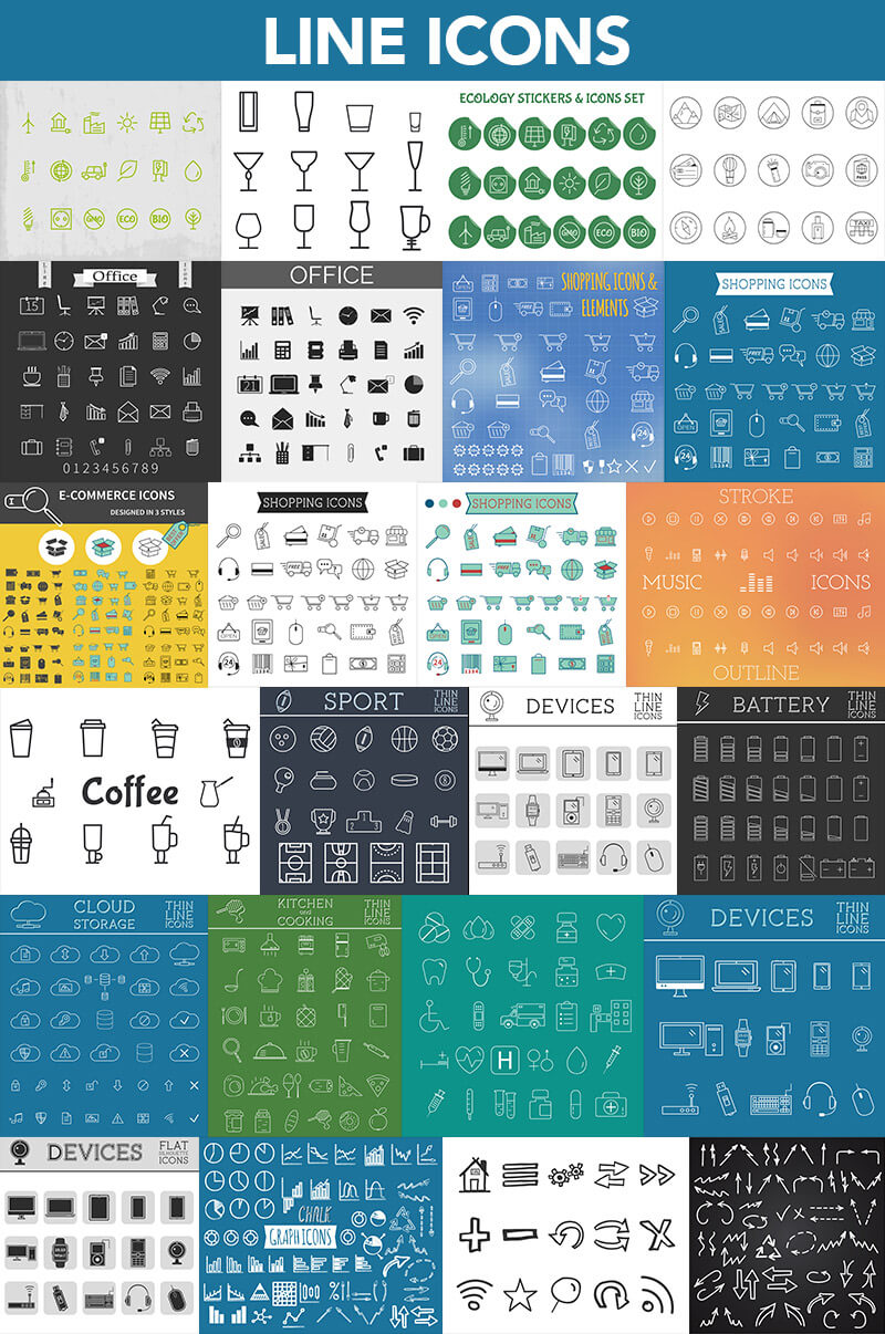 Super Graphics Bundle 1200 elements 02