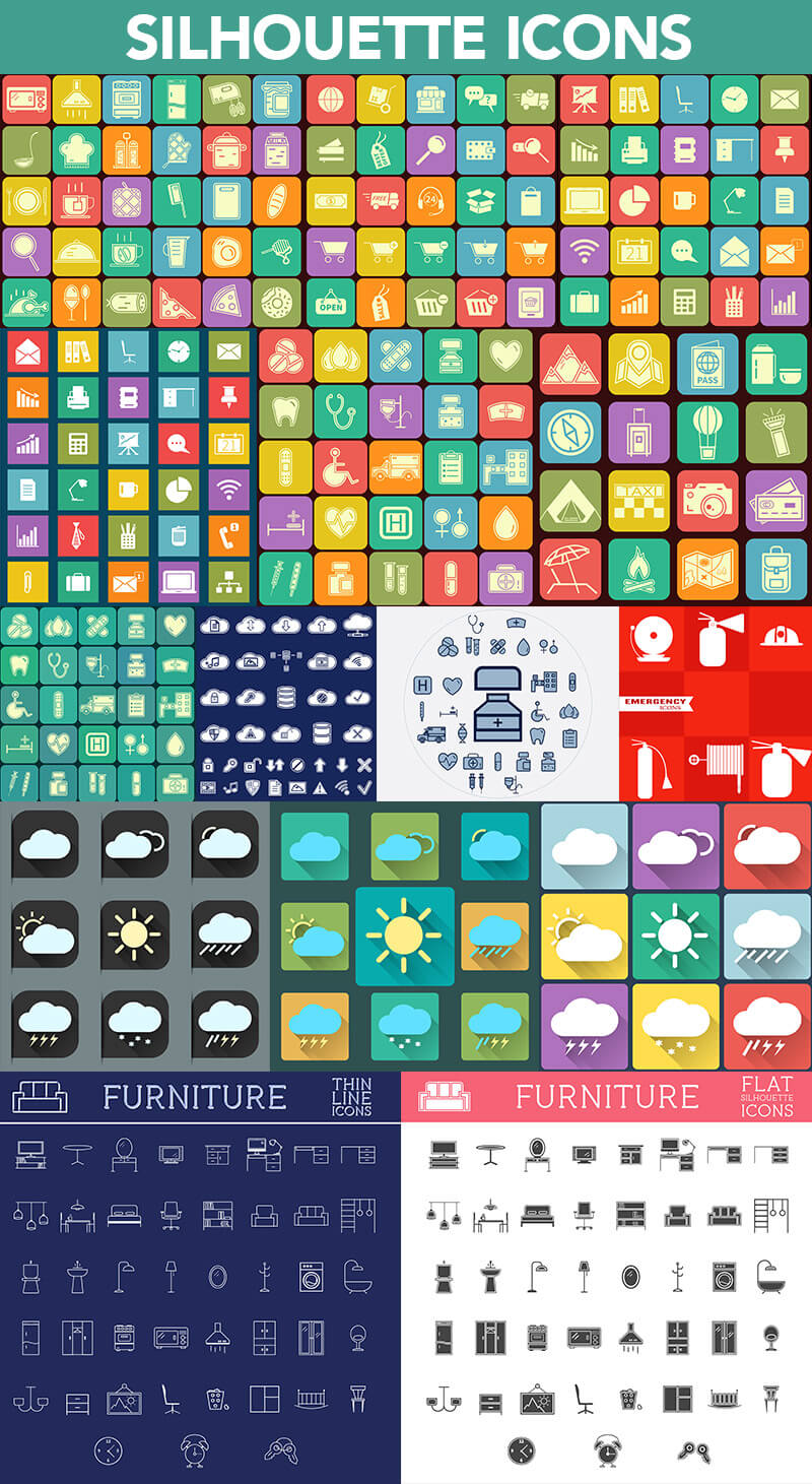 Super Graphics Bundle 1200 elements 15
