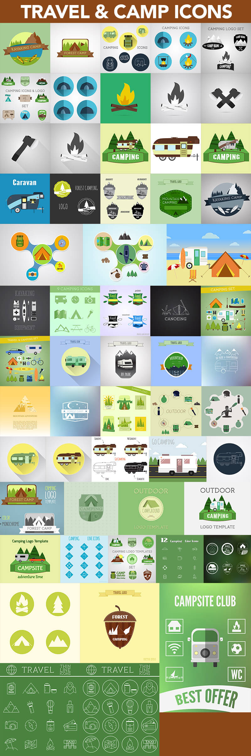 Super Graphics Bundle 1200 elements 17