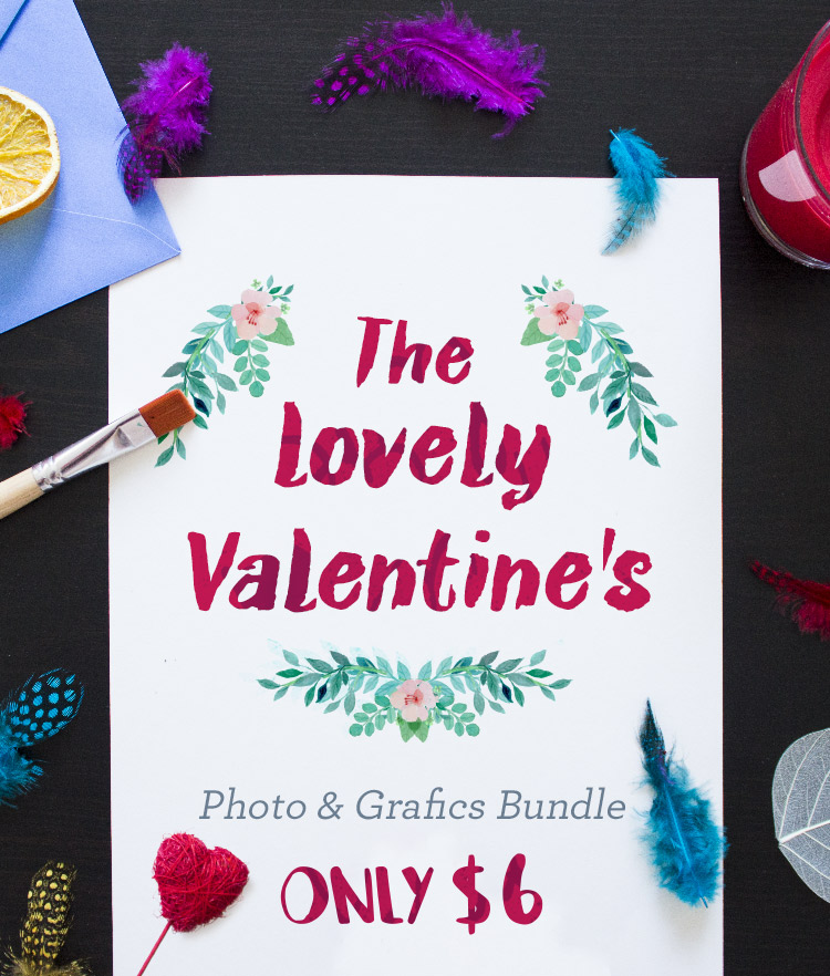 The Lovely Valentines Bundle Cover