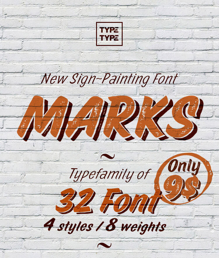 Type Type Marks Type Family Cover