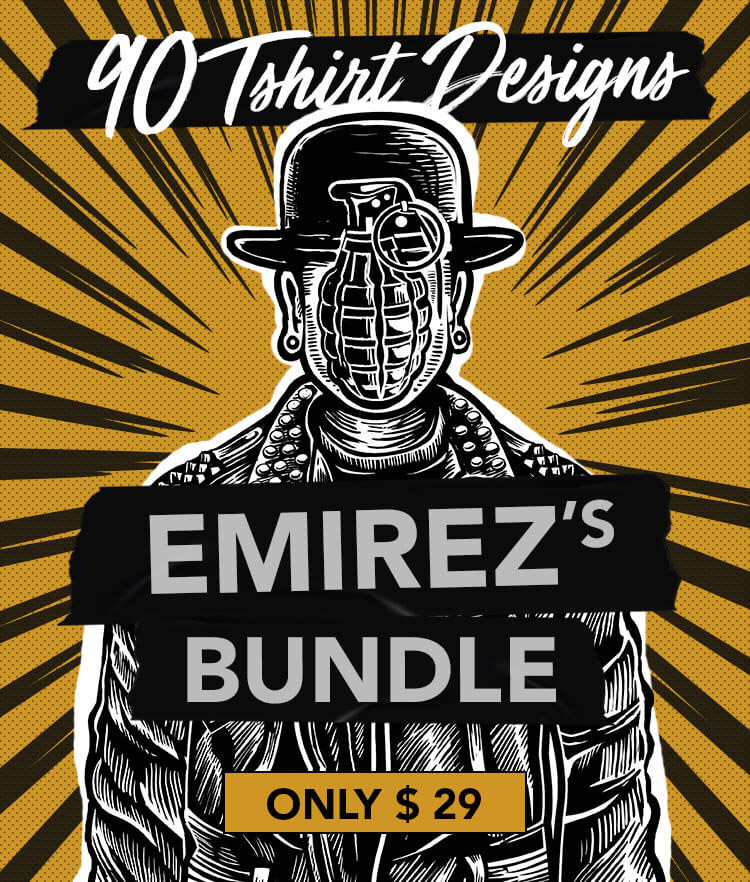 Emirez's T-shirt Designs Bundle