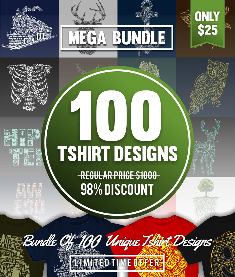 Caffein Art's Graphic Designs Mega Bundle