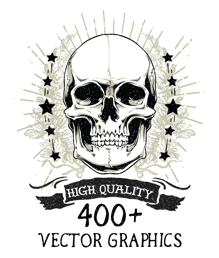 400+ High Quality Vector Graphics