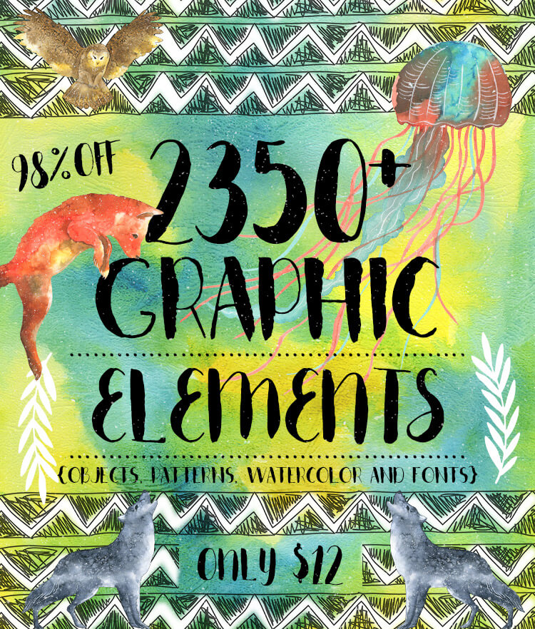 2350 Graphic Design Elements Cover