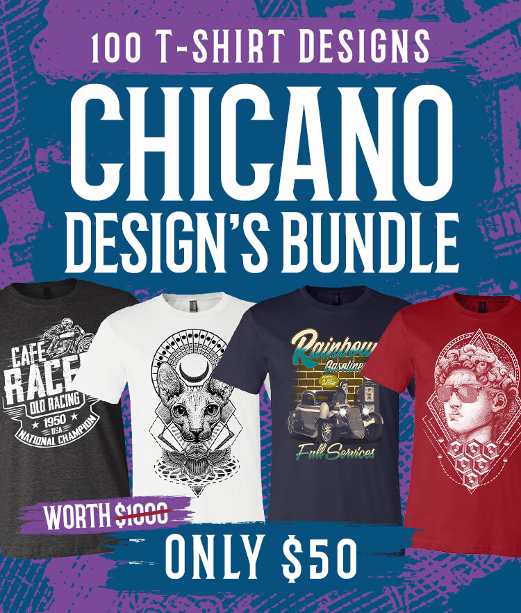 Chicano Designs Bundle Cover