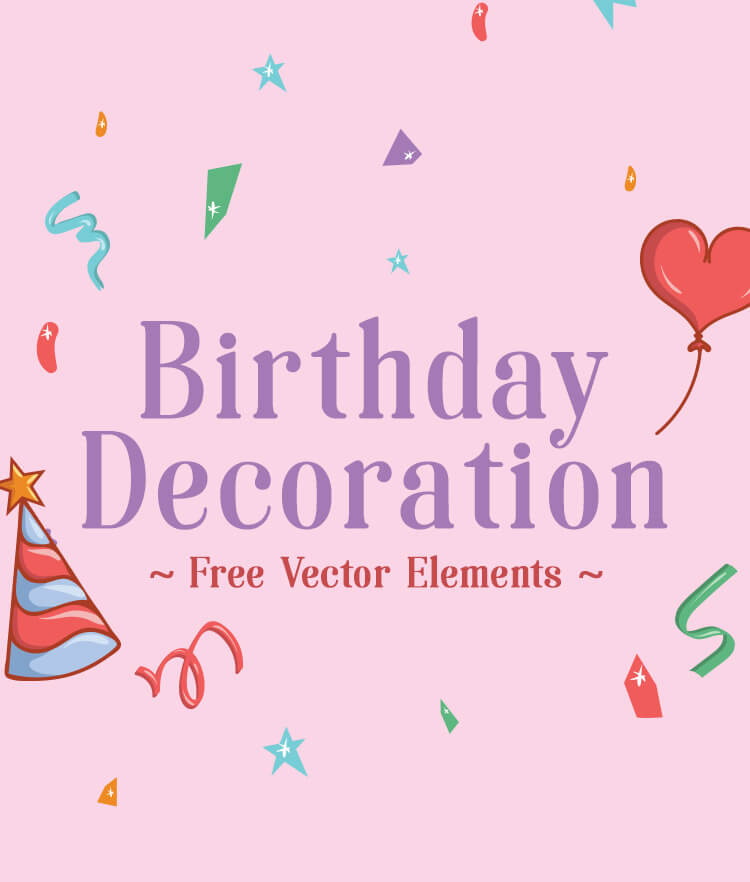 FREE Birthday decorations Cover