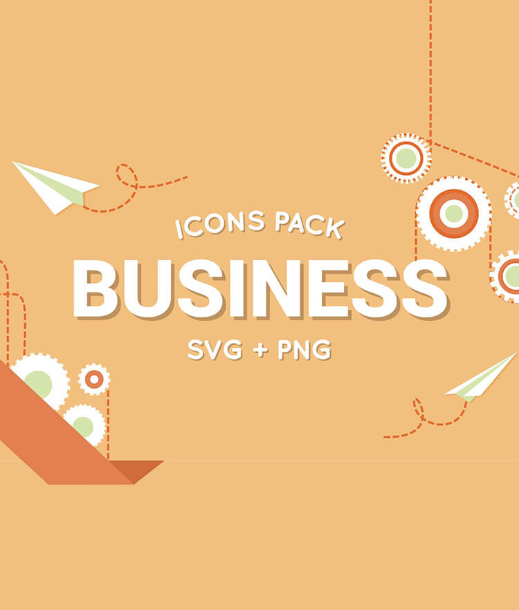 FREE Business Icons Pack Cover