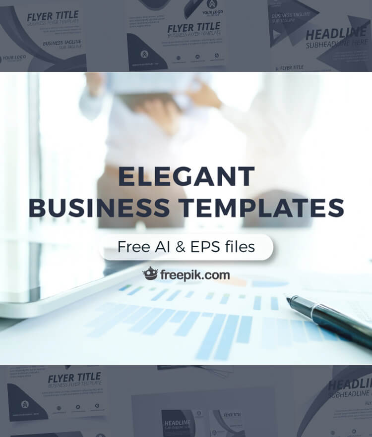 FREE Elegant Business Templates Cover