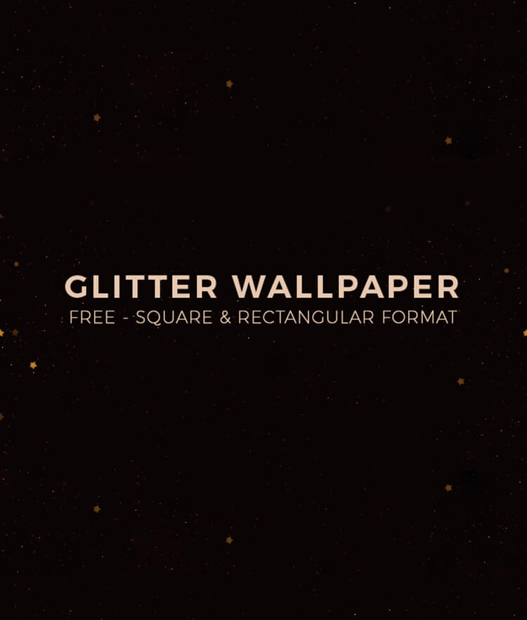 FREE Glitter wallpaper Cover