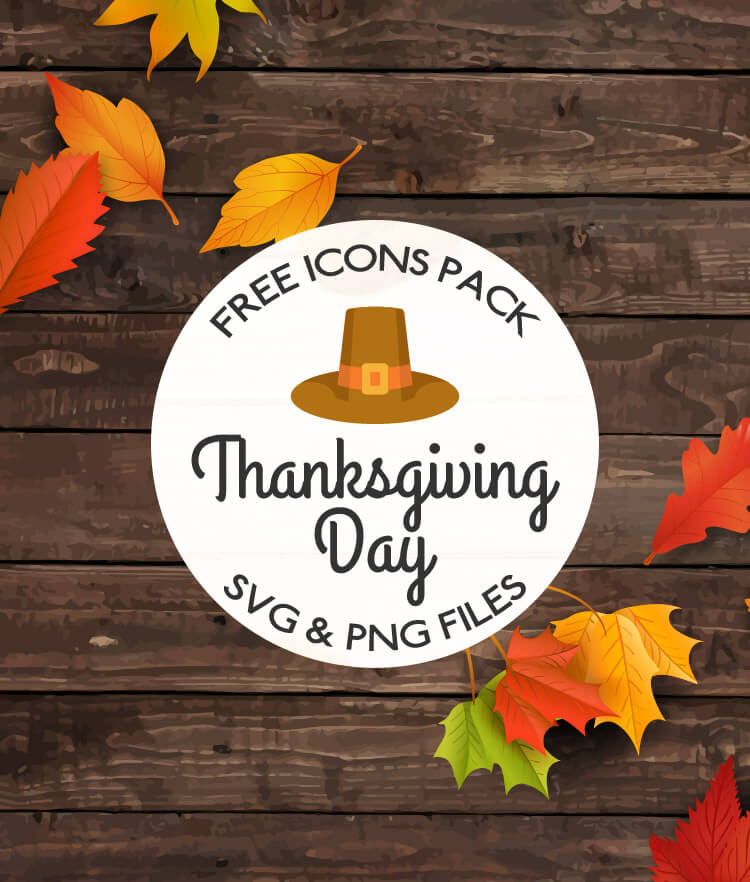 FREE Thanksgiving Day Icons Pack Cover