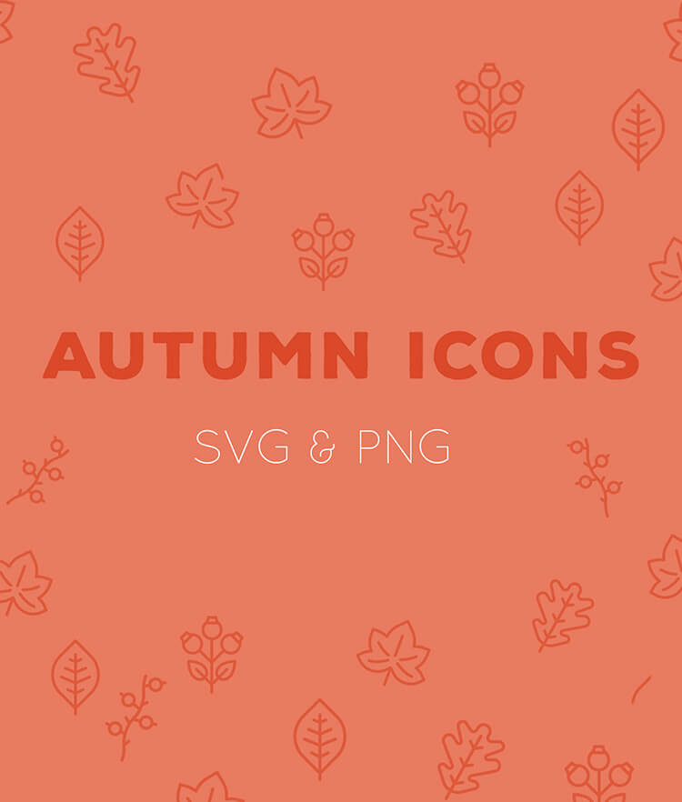 Free Autumn Icons Cover