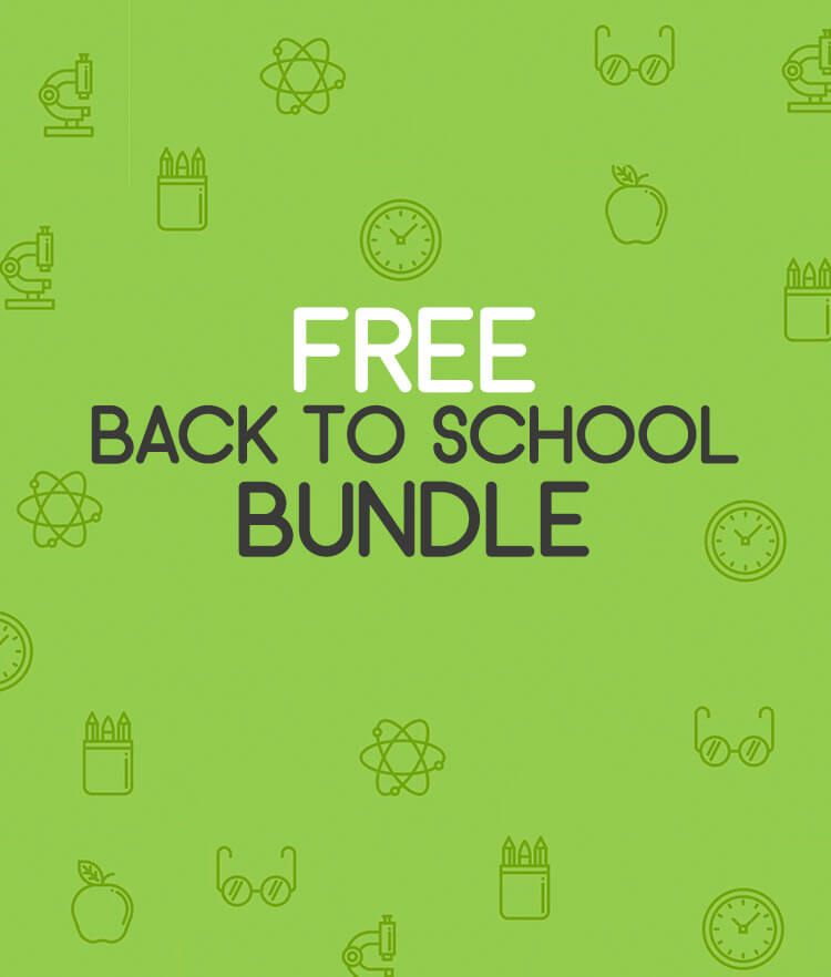 Free Back to school bundle Cover