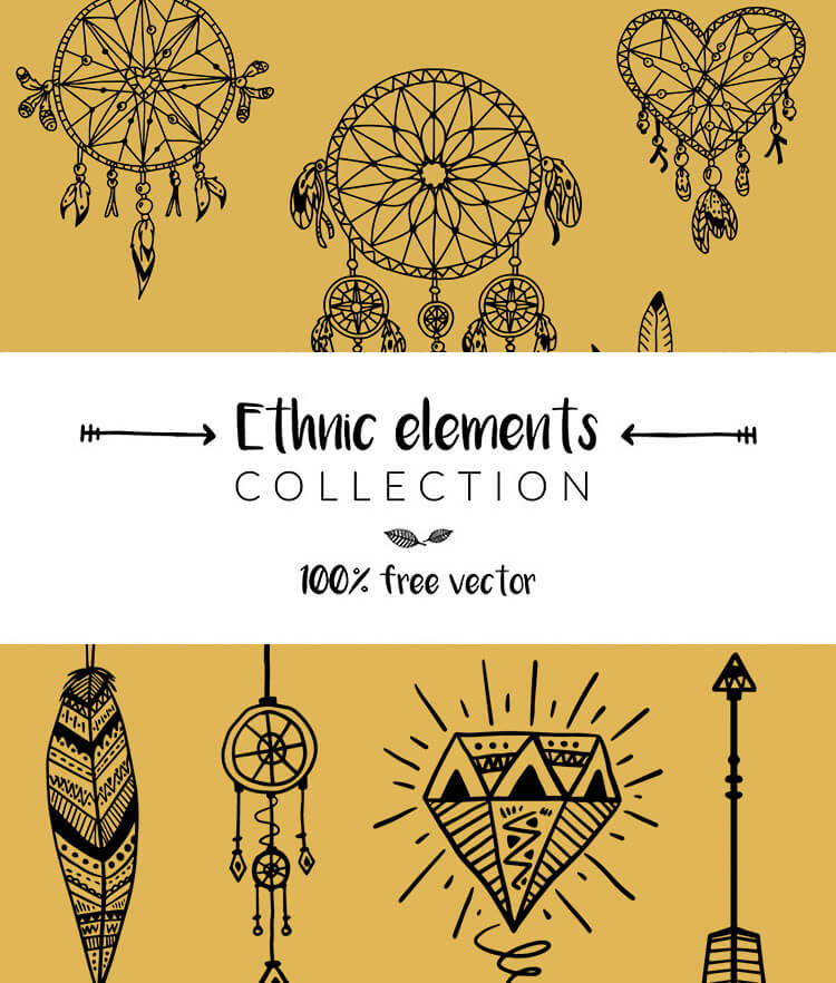 Free Ethnic Elements Cover