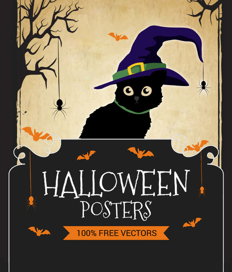 Free Halloween Posters Cover