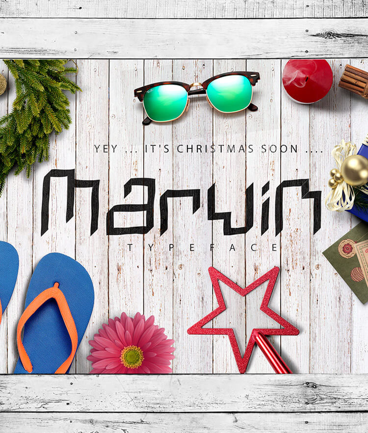 Free Marvin Font Cover