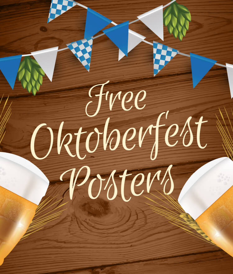 Free Oktober Fest Posters Cover