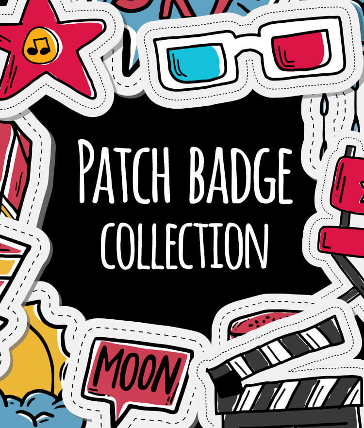 Free Patch badge collection Cover