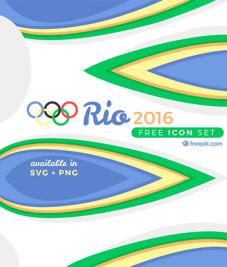 Free Rio Icon Set 2016 Cover