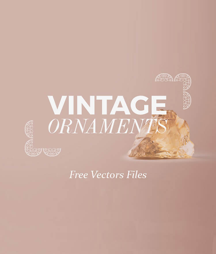 Free Vintage Ornaments Cover