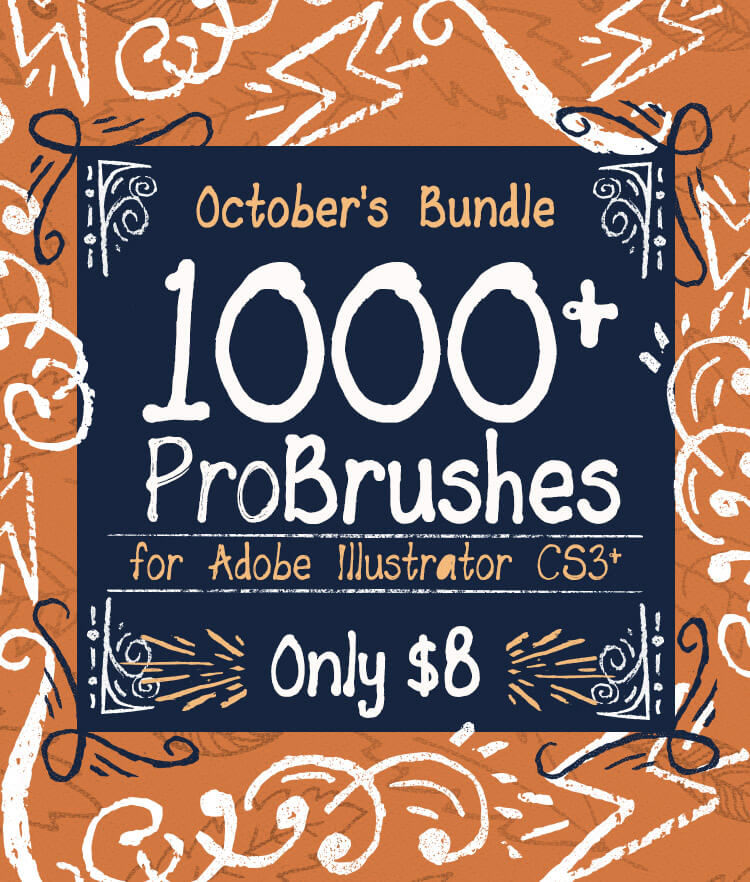 Octobers Bundle 1000 ProBrushes Cover