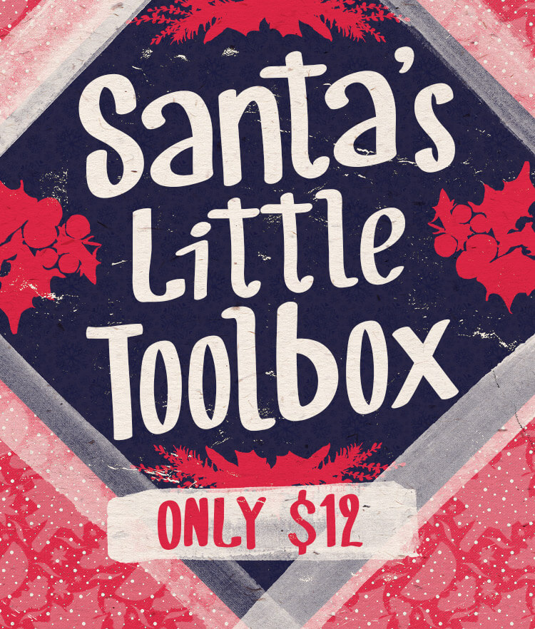 Santa's Little Toolbox Cover