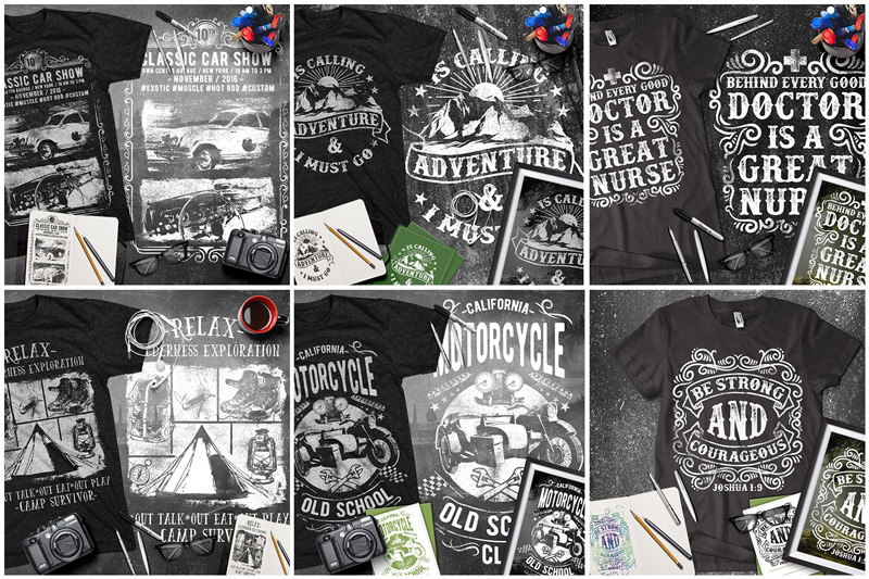 100-Premium-T-Shirt-Designs-Preview-02