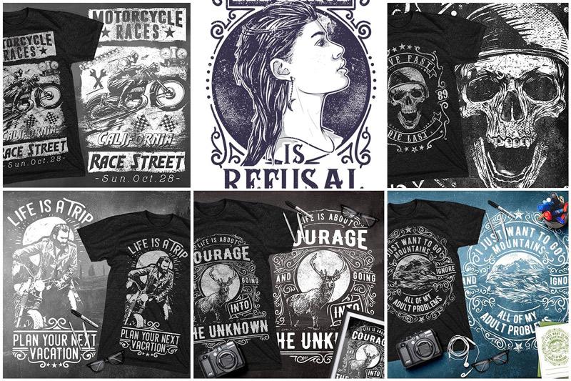100-Premium-T-Shirt-Designs-Preview-12