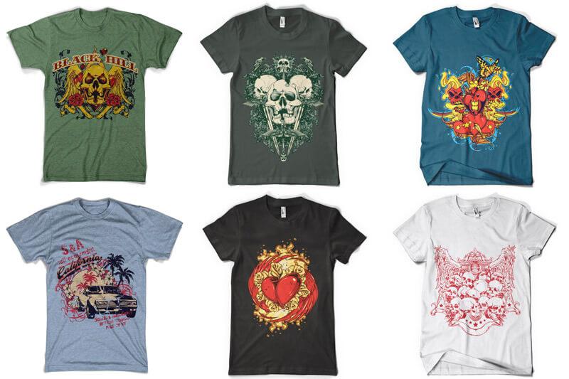 100 T shirt Designs Vol 3 Preview 02