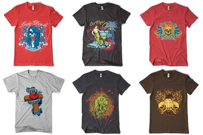 100 T shirt Designs Vol 3 Preview 09