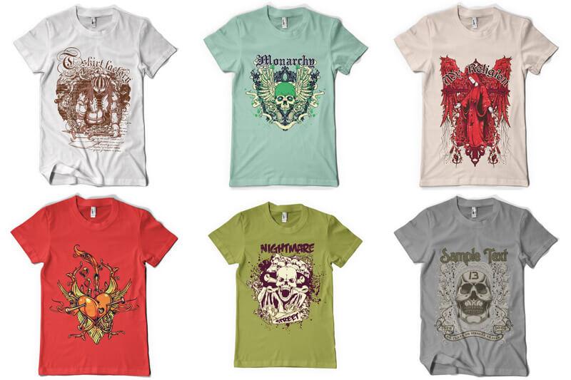 100 T shirt Designs Vol 3 Preview 10