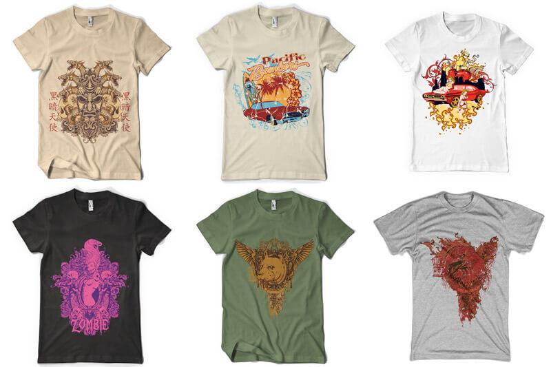 100 T shirt Designs Vol 3 Preview 11
