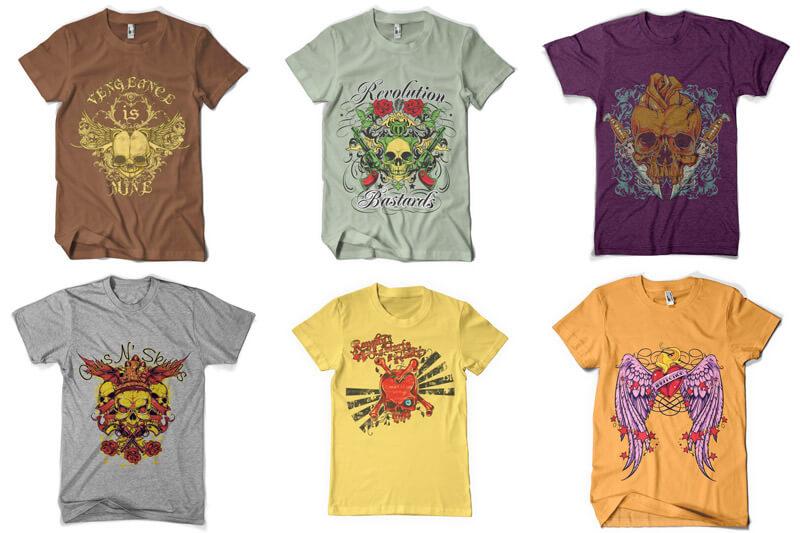 100 T shirt Designs Vol 3 Preview 12
