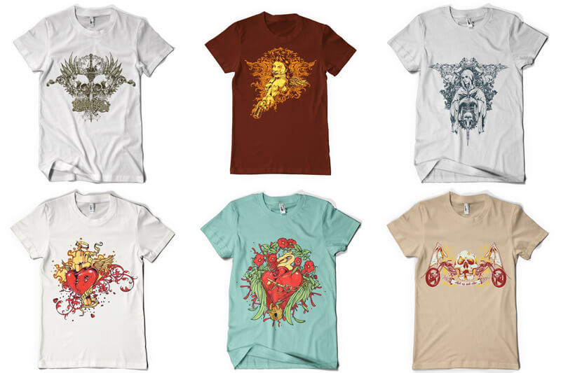 100 T shirt Designs Vol 3 Preview 13