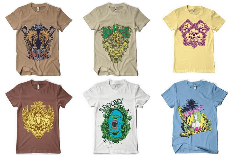 100 T shirt Designs Vol 3 Preview 14