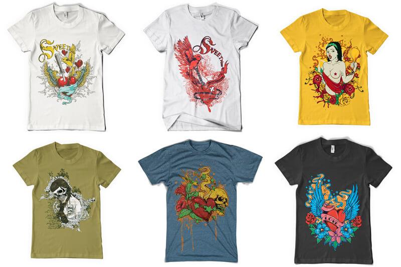 100 T shirt Designs Vol 3 Preview 15