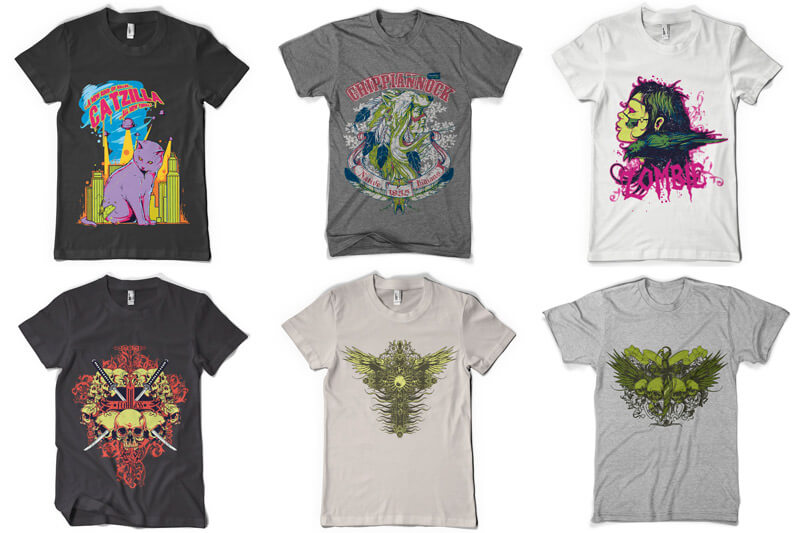 100 T shirt Designs Vol 4 Preview 03