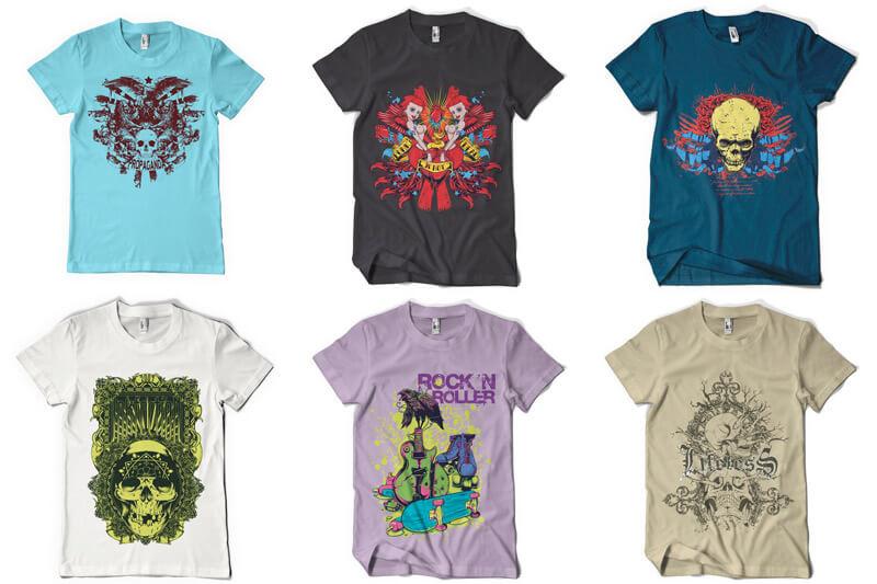 100 T shirt Designs Vol 4 Preview 13
