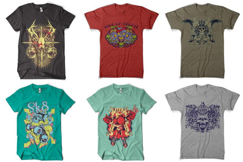 100 T shirt Designs Vol 4 Preview 14