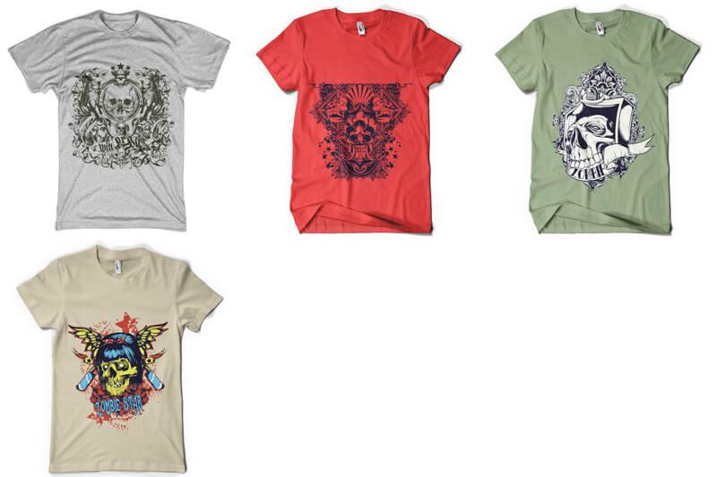 100 T shirt Designs Vol 4 Preview 17