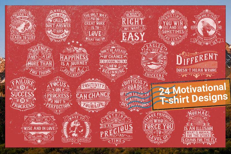 100 Editable T shirt Designs Bundle Preview 2 05