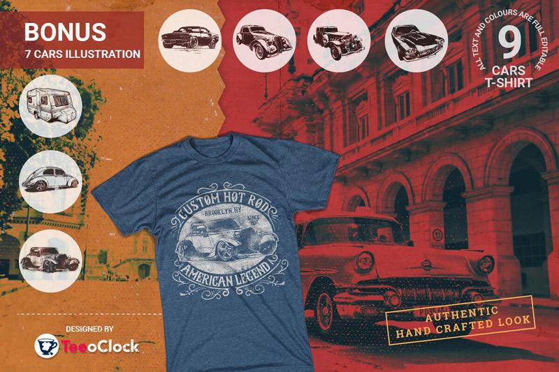 100 Editable T shirt Designs Bundle Preview 2 06
