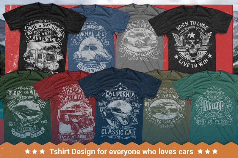 100 Editable T shirt Designs Bundle Preview 2 07