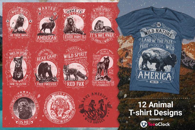 100 Editable T shirt Designs Bundle Preview 2 08