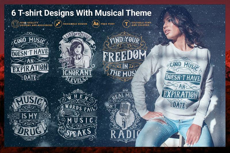 100 Editable T shirt Designs Bundle Preview 2 11