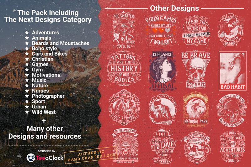 100 Editable T shirt Designs Bundle Preview 2 18